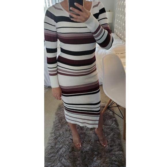 Maxi sweater dress - small